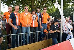 Team KWPN<br /> Gert Van den Hoorn, Wim Ernes, Johan Hamminga, ....<br /> FEI World Dressage Championships for Young Horses<br /> Internationales Dressur- und Springfestival - Verden 2014<br /> © Dirk Caremans