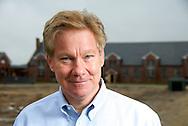 Congressman Tom Davis at the Lorton Prison project. Lorton, VA