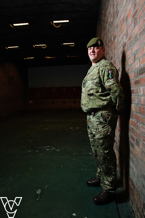 MY OTHER LIFE:  Wolseley's Gainsborough branch manager, Mitchell Gee, is sergeant with Force's Nottinghamshire Army Cadet B Company.<br /> <br /> Date: March 15, 2016