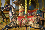 Carousel horses in Place de la Concorde, Paris, France