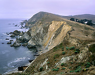 The Rugged Pacific Coast At Point Reyes, California