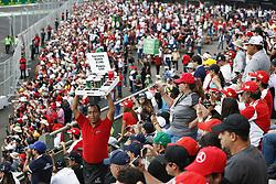 October 29, 2017 - Mexico-City, Mexico - Motorsports: FIA Formula One World Championship 2017, Grand Prix of Mexico, ..fans  (Credit Image: © Hoch Zwei via ZUMA Wire)