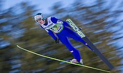 03.01.2014, Bergisel Schanze, Innsbruck, AUT, FIS Ski Sprung Weltcup, 62. Vierschanzentournee, Qualifikation, im Bild Michael Hayboeck (AUT) // Michael Hayboeck (AUT) during qualification Jump of 62nd Four Hills Tournament of FIS Ski Jumping World Cup at the Bergisel Schanze, <br /> Innsbruck, Austria on 2014/01/03. EXPA Pictures © 2014, PhotoCredit: EXPA/ JFK