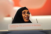 © Licensed to London News Pictures. 26/09/2011. LONDON, UK. Dr Maryan Quaim at The Labour Party Conference in Liverpool today (26/09/11). Photo credit:  Stephen Simpson/LNP