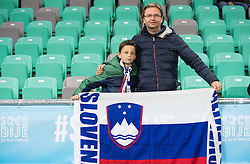 Vasja Ambrozic ahead to the football match between National teams of Slovenia and England in Round #3 of FIFA World Cup Russia 2018 Qualifier Group F, on October 11, 2016 in SRC Stozice, Ljubljana, Slovenia. Photo by Vid Ponikvar / Sportida
