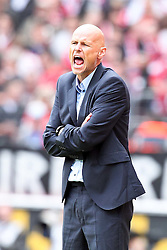 23.07.2011,  Rhein Energie Stadion, Koeln, GER, FSP, 1. FC Koeln vs Arsenal London, im Bild:  Stale Solbakken (Trainer Koeln) schreit...// during the friendly match, 1. FC Koeln vs Arsenal London on 2011/07/23, Rhein-Energie Stadion, Köln, Germany. EXPA Pictures © 2011, PhotoCredit: EXPA/ nph/  Mueller *** Local Caption ***       ****** out of GER / CRO  / BEL ******
