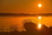 Sunrise on Saskatoon Lake<br />Saskatoon Island Provincial Park<br />Saskatchewan<br />Canada