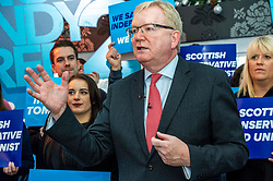 Pictured: Jackson Carlaw<br /><br />On the final day of electioneering for the UK election, Jackson Carlaw, Leader of the Scottish Conservatives and Ruth Davidson led an election rally in Edinburgh.<br />.<br />Ger Harley | EEm 11 December 2019