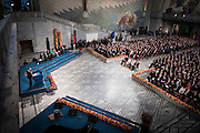 Nobel Peace Prize 2012 ceremony at the City Hall in Oslo.