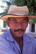 Portrait of Mompox resident, Bolivar Province, Colombia