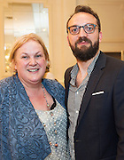 To celebrate 25 Years of MEDIA, The Creative Europe MEDIA Office Galway held theCreative EuropeMEDIA Co-Production Dinnerin Hotel Meyrickon Thursday the 7th of June as part of TheGalway Film Fleadh.<br /> <br /> At the event was Edwina Forkin Zanzibar Films and Bastien Sirodot Umedia.<br /> The networking dinner gives Fleadh goersprivileged access to the world's leading film Financiers and a fantasticopportunity to network with European Producers and Film Fair Financiers. Creative Europe MEDIA Office Galway offers comprehensive information on the European Union's Creative Europe Programme, offering advice, support and information on Creative Europe funding support for the audiovisual industries including film, television and games. The regional office is also available to respond to queries by phone or email. In addition to providing one-to-one advice sessions and events throughout the year. <br /> <br /> For further information contact Eibhlín Ní Mhunghaile on 091 770728 or via email oneibhlin@creativeeuropeireland.eu<br />  Photo: Andrew Downes XPOSURE