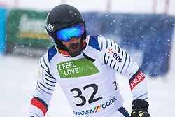 Bourdenx Manoel of France during Slalom race at 2019 World Para Alpine Skiing Championship, on January 23, 2019 in Kranjska Gora, Slovenia. Photo by Matic Ritonja / Sportida