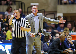 Mar 20, 2019; Morgantown, WV, USA; Grand Canyon Antelopes head coach Dan Majerle yells from the bench during the second half against the West Virginia Mountaineers at WVU Coliseum. Mandatory Credit: Ben Queen