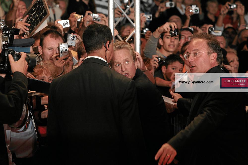 Michael Douglas - et son attaché de presse André Paul Ricci - 33 ème Festival du Cinéma Américain de Deauville - Soirée d'ouverture - 31/8/2007 - JSB / PixPlanete