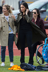 © Licensed to London News Pictures. 06/04/2018. London, UK.  MEGHAN MARKLE attends the UK team trials for the Invictus Games Sydney 2018.The trials are held at the University of Bath Sports Training Village. Photo credit: Ray Tang/LNP
