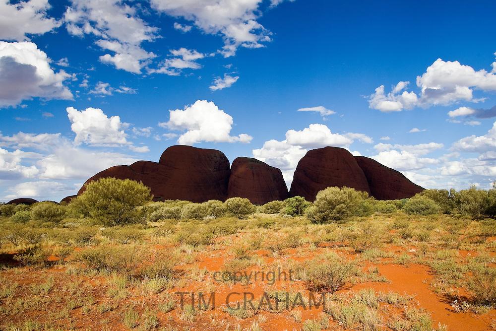 The Olgas, Kata Tjuta, Red Centre, Northern Territory, Australia