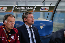 September 28, 2017 - Rome, Italy - ROME, ARNHEM - SEPTEMBER 28: Mister Franchy Dury of SS Lazio actions during the UEFA Europa League group K match between SS Lazio and SV Zulte Waregem at Olimpico Stadium on September 28, 2017 in Rome, Italy. (Credit Image: © Cosimo Martemucci/Pacific Press via ZUMA Wire)