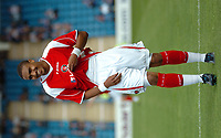 Photo: Tony Oudot.<br /> Gillingham v Charlton Athletic. Pre Season Friendly. 28/07/2007.<br /> Jerome Thomas of Charlton is pleased with his performance