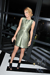 VANESSA KIRBY at the InStyle Best of British Talent Event in association with Lancôme and Avenue 32 held at The Rooftop Restaurant, Shoreditch House, Ebor Street, London E1 on 30th January 2013.