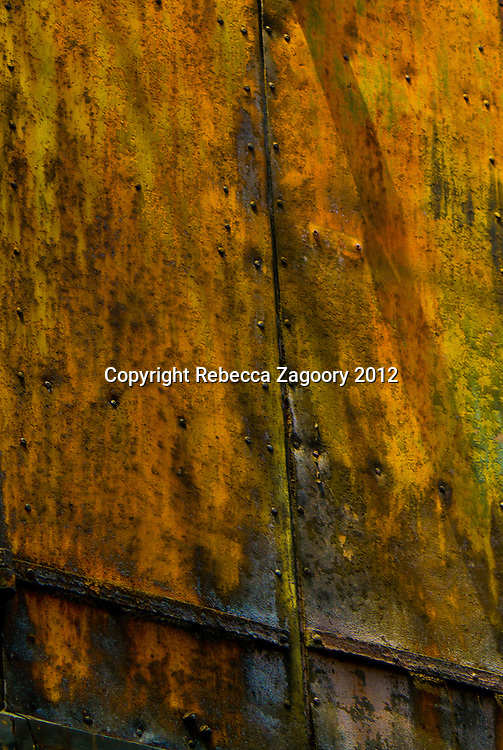 Aged steel plates offer up the best testament of time. With textures of color from rust, water, peeling, oxidation and time.