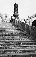 Wutaishan is one of China's 4 sacred peaks in Buddhism.<br /> <br /> Images in this gallery were taken using film and are presented in small, low resolution files - high resolution scans or the original slide/negative are also available.