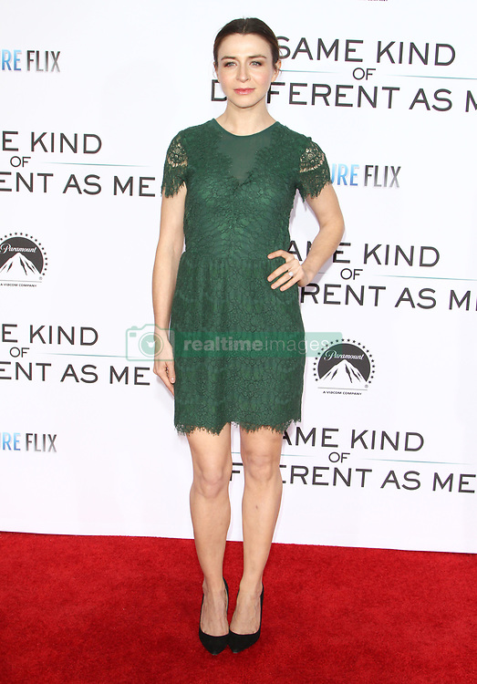Same Kind of Different As Me Premiere at Village Theatre in Westwood, California on 10/12/17. 12 Oct 2017 Pictured: Caterina Scorsone. Photo credit: River / MEGA TheMegaAgency.com +1 888 505 6342