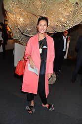 GOGA ASHKENAZI at the PAD London 10th Anniversary Collector's Preview, Berkeley Square, London on 3rd October 2016.