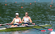 Lucerne. Switzerland,  USA2 Adrienne MARTELLI (b) , Megan KALMOE (s)  Rotsee Lake.  15:26:33  Saturday  13/07/2013  [Mandatory Credit, Peter Spurrier/ Intersport Images]