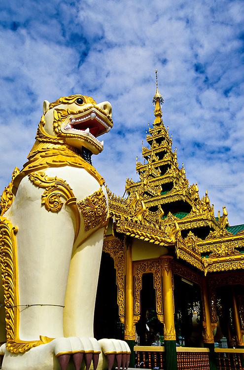The Mahazedi Pagoda, Bago (Pegu), Burma, Myanmar