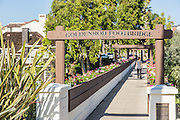 Goldenrod Footbridge Corona Del Mar Newport Beach California
