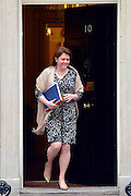 © Licensed to London News Pictures. 21/05/2013. Westminster, UK. Maria Miller, Conservative MP, Secretary of State for Culture, Olympics, Media and  Sport.  Ministers arrive for a Cabinet meeting at Downing Street today 21 May 2013. Photo credit : Stephen Simpson/LNP