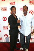 l to r: Nate Parker and Anthony Mackie(Festival Ambassador) at ' The Young Hollywood ' panel at The 2008 American Black Film Festival  held at The Writers Guild of America on August 9, 2008...The Festival film slate is primarily composed of world premieres (shorts, narrative features and documentaries), positioning it as the leading film festival in the world for African American and urban content. Since its inception ABFF, has screened over 450 films and has rewarded and redefined artistic excellence in independent filmmaking.