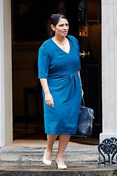 © Licensed to London News Pictures. 27/06/2017. London, UK. International Development Secretary PRITI PATEL attends a cabinet meeting in Downing Street, London on Tuesday, 27 June 2017. Photo credit: Tolga Akmen/LNP