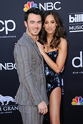 Kevin Jonas and Danielle Jonas at the 2019 Billboard Music Awards held at the MGM Grand Garden Arena in Las Vegas, USA on May 1, 2019.