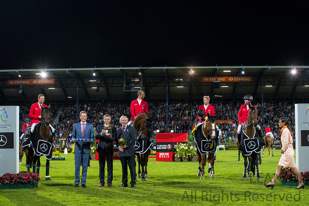 Team Germany winner nations cup<br /> CHIO Aachen 2017<br /> © DigiShots