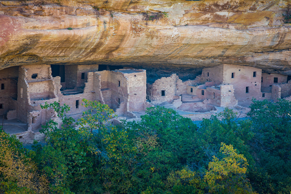 """Mesa Verde National Park is a National Park and World Heritage Site located in Montezuma County, Colorado. It protects some of the best preserved Ancestral Puebloan archaeological sites in the United States.<br /> <br /> Created by President Theodore Roosevelt in 1906, the park occupies 52,485 acres  near the Four Corners region of the American Southwest. With more than 4,300 sites, including 600 cliff dwellings, it is the largest archaeological preserve in the U.S. Mesa Verde (Spanish for """"green table"""") is best known for structures such as Cliff Palace, thought to be the largest cliff dwelling in North America."""