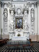 Litwa, Wilno 08.07.2014. Barokowy kościół Kościół św. Piotra i Pawła na Antokolu w Wilnie.