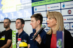 Maja Pak of STO during press conference of cycling race Tour od Slovenia 2019 1 day before the competition, on June 18, 2019 in Ljubljana's castle, Ljubljana, Slovenia. Photo by Vid Ponikvar / Sportida