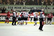 01.Mai 2012; Kloten; Eishockey - Schweiz - Kanada; Die Schweizer jubeln nach dem 2:2 <br />  (Thomas Oswald)
