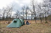 Nederland, Winterswijk, 17-3-2013Kampeerterrein Masterveld van de NTKC wordt klaargemaakt voor het seizoen.Foto: Flip Franssen/Hollandse Hoogte