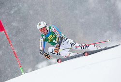 Stefan Luitz (GER) competes during 1st Run of 10th Men's Giant Slalom race of FIS Alpine Ski World Cup 55th Vitranc Cup 2016, on March 5, 2016 in Kranjska Gora, Slovenia. Photo by Vid Ponikvar / Sportida