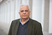 DEU, Deutschland, Germany, Berlin, 17.02.2015: Portrait von Theodoros Paraskevopoulos, Wirtschaftswissenschaftler und parlamentarischer Geschäftsführer des griechischen Linksbündnisses SYRIZA.