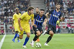 July 28, 2018 - Nice, France - Alvaro Morata (Chelsea) - Danilo D Ambrosio  (Credit Image: © Panoramic via ZUMA Press)