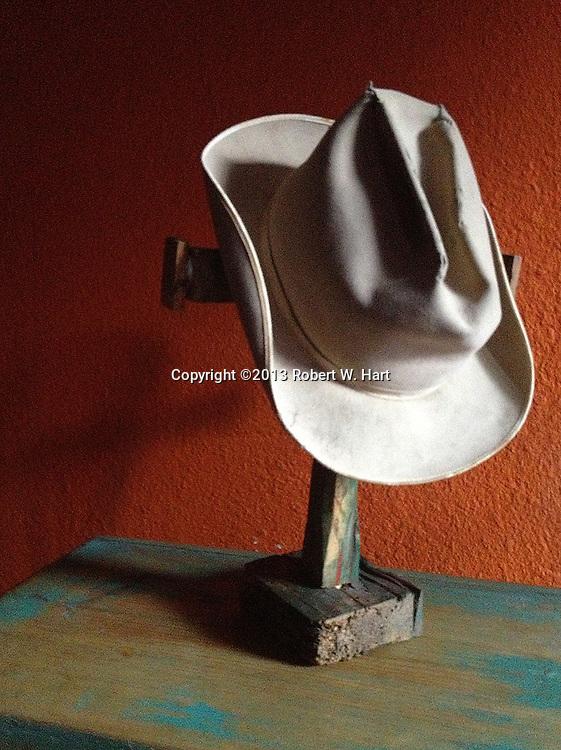 Old Rugged Hat. Santa Fe, N.M.