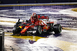 September 17, 2017 - Singapore, Singapore - Motorsports: FIA Formula One World Championship 2017, Grand Prix of Singapore, ..#7 Kimi Raikkonen (FIN, Scuderia Ferrari), #33 Max Verstappen (NLD, Red Bull Racing) (Credit Image: © Hoch Zwei via ZUMA Wire)
