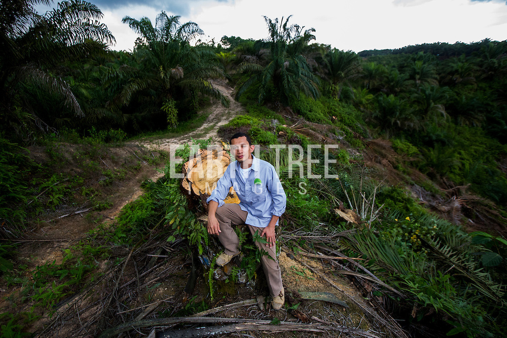 Rudi Putra, award winnning conservationist and biologist pictured in the Leuser Ecosystem, Sumatra, Indonesia. Photo: Paul Hilton