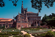 PORTUGAL, CENTRAL REGION Busaco forest and gardens; trees planted in 1626 by Carmelites now Palace Hotel
