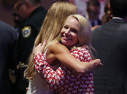 Ron DeSantis supporter Anna Upton of Tallahassee, Fla. celebrates during a DeSantis election night party at the Rosen Centre in Orlando, Fla. on Tuesday, November 6, 2018. Photo by Stephen M. Dowell/Orlando Sentinel/TNS/ABACAPRESS.COM