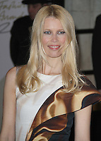Claudia Schiffer British Fashion Awards, The Savoy, Strand, London, UK, 07 December 2010:  Contact: Ian@Piqtured.com +44(0)791 626 2580 (Picture by Richard Goldschmidt)