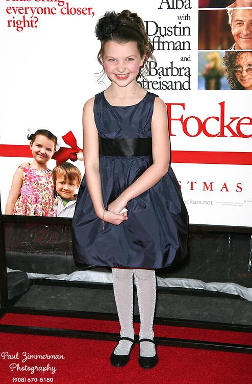 15 December 2010 - New York, NY - Daisy Tahan.  The world premiere of 'Little Fockers' at Ziegfeld Theatre on December 15, 2010 in New York City. Photo Credit: Paul Zimmerman/AdMedia